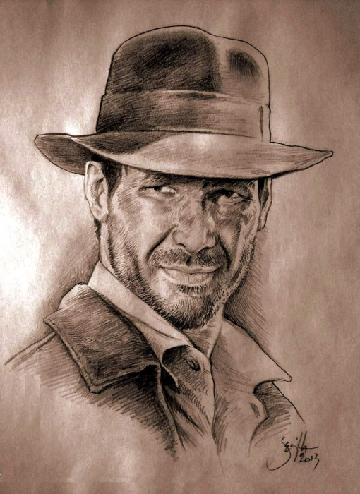 Harrison Ford by Tonio